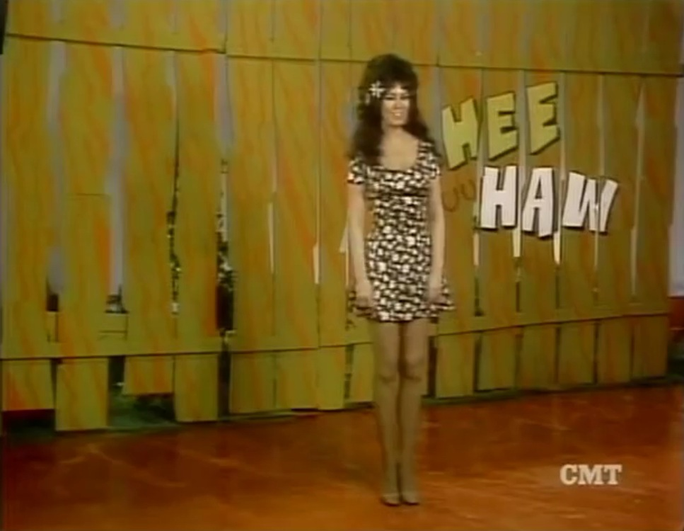 which hee haw honey posed nude