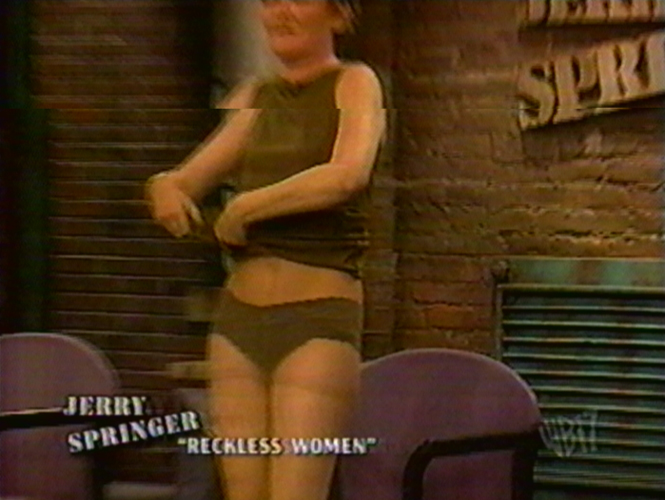 Simply Naked fight on jerry springer pity, that